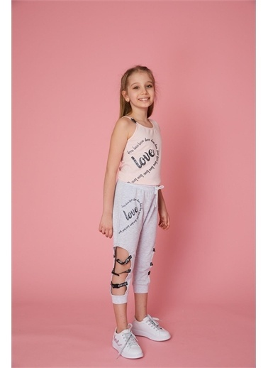 Little Star Little Star Kız Çocuk T-Shirt Pudra